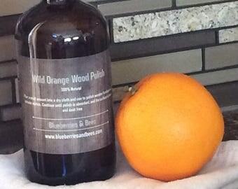 NEW and Improved!! Wild Orange Wood Polish 16 oz.