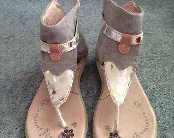 "Girl summer sandals ""BEEKO"" size 1.5 US / 32 EURO"