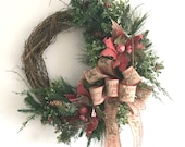Outdoor Christmas Wreath,...