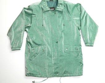 """Vintage Sparkle Green Jacket"""""""