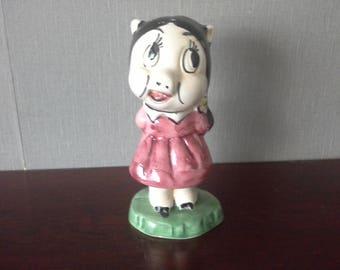 Warner Bros Petunia Pig Liquor Amaretto Ceramic Decanter