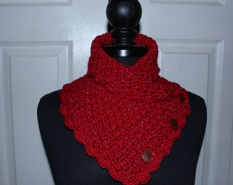 Customized Crocheted Neck warmers, Scarves and Hats for Women and Men