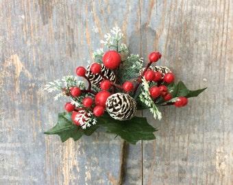 Decorazione Natale chiudipacco Christmas wrapping gift