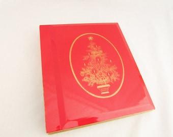 Vintage Christmas Photo Album by Otagiri