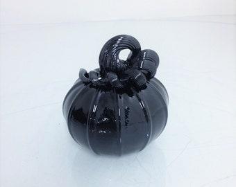 Black Out Small Pumpkin