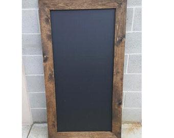 Large Chalkboard, Rustic Framed Chalkboard, Restaurant, Menu Sign, Business Sign, Wedding Sign, Menu Board, Large Chalkboard, Rustic Wedding