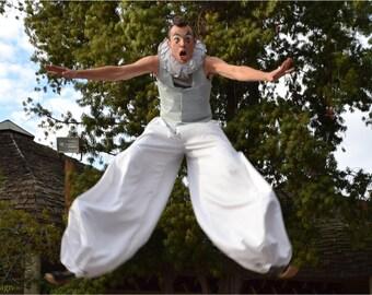 Bounce Stilt Pants - Harem Pants - Circus, Clown, Acrobatics, Busking