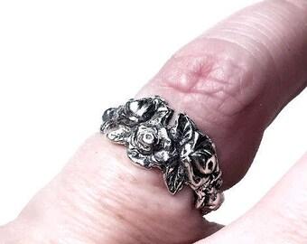 Ring for little finger - silver 925
