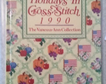 Vanessa Ann's Holidays in Cross Stitch 1990