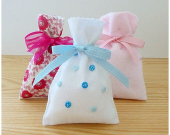 Felt Gift Bag PDF Sewing Pattern and Tutorial, Instant Download
