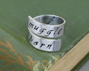 Muggle Born Wrap Ring