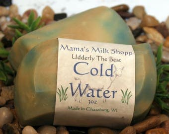 Goat Milk Soap, Cold Water, Homemade Soap