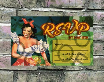 Havana Nights Party Welcome Sign 18x24 Or 24x36
