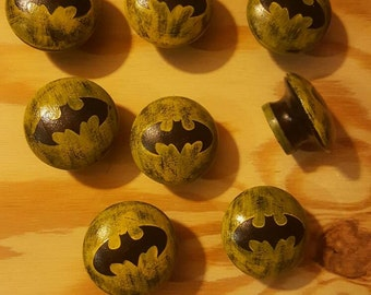Batman dresser knobs