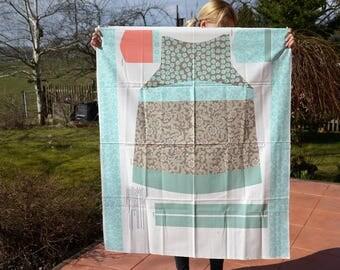 Sewing pattern package apron Verona Riley Blake Brown