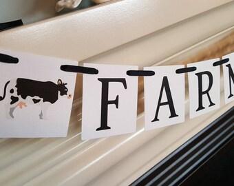Farmhouse banner, farmhouse decor