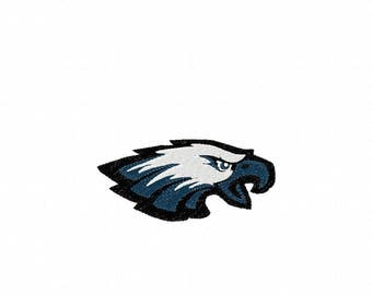 Eagle Head Filled - 3 sizes - Embroidery Design -   DIGITAL Embroidery DESIGN