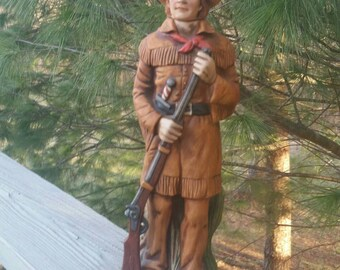 Kit Carson McCormick Whiskey Decanter Limited Edition Frontiersmen Series