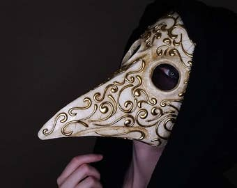 Ornate Plague Doctor Mask