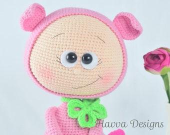 PATTERN  - Bonnie With Pig Costume