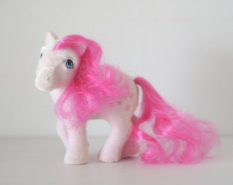 My Little Pony G1 So Soft Heart Throb Pink Pegasus - MLP Fuzzy Ponies