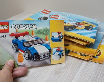 32 Lego Creator building guide instruction books lot bulk scrapbooking craft supply 4918 4996 5763 5867 6743 6747 6913 31002 31006  31008