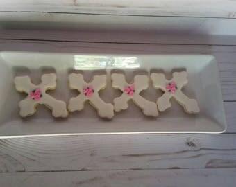 1 Dozen Cross Cookies