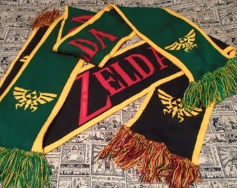 Legend of Zelda Knit Scarf