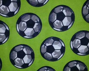 Boys weighted blanket Soccer Balls autism ADHD Sensory Sleep Therapy