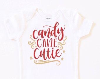 Baby girl Christmas Onesie, girls christmas shirt, baby christmas shirt, glitter Christmas onesie, Christmas shirt, toddler Christmas shirt