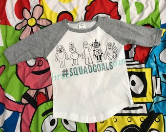 Yo Gabba Gabba SquadGoals Shirt