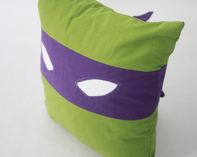 Teenage Mutant Ninja Turtles Pillow-Donatello-Teenage Mutant Ninja Turtles nursery pillow