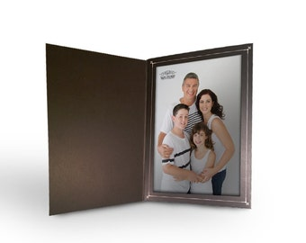 BETTER CRAFTS Cardboard Photo Folder 4x6 - Black