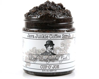 Men's Java Junkie Coffee Scrub - 8 fl. oz. Jar - Vegan