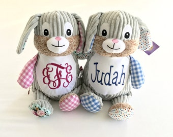 Cubbie Bunny with Personalization