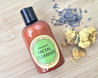 Deep Cleansing Organic Face Wash | Natural Facial Cleanser for Acne and Oily Skin | Non Drying Acne Soap | Vegan Acne Treatment 4.5oz