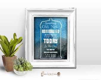 Doctor Who Wedding Printable Instant Download Wall Art Decor Decorations Photo Prop Photography Sci-fi Geek Nerd Ceremony Dr Tardis Quote