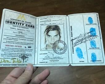 Dora Tonks - Ministry of Magic ID
