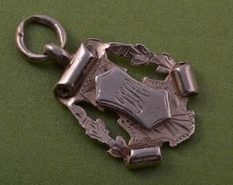 Silver 1920's Medal (953i)