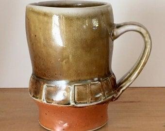 Amber Celadon Mug