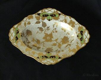 Vintage Tuscan China Pin Dish, Trinkets Dish, Circa 1930s