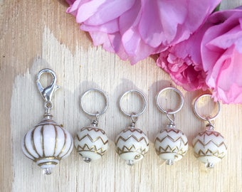 Bohemian Stitch markers | knitting stitch markers| knitting Accessory | Knitting Notions