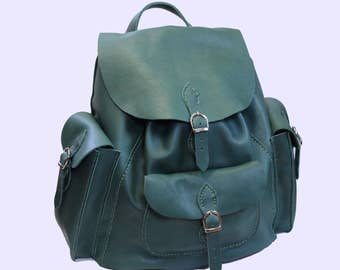 Leather Backpack Leather Rucksack Large Backpack Large Rucksack Large Leather Backpack