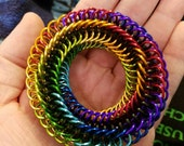 Chainmaille fidget toy
