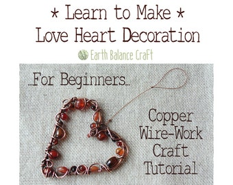 Wire Tutorial, Craft Tutorial, Wire Art, DIY Instructions, Wirework, PDF Tutorial, Step by Step, Download Tutorial, Wire Wrapping Tutorial