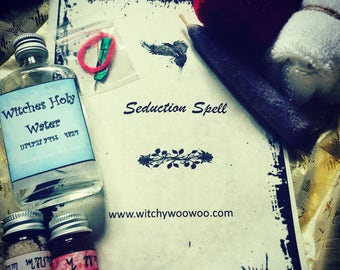 Seduction - Spell kit • magick • spellcasting • bring back a lover • fix a breakup • reignite passion • rekindle an old flame