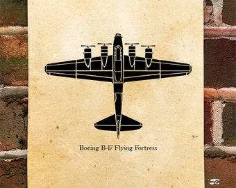 KillerBeeMoto: Limited Print Boeing B-17 Flying Fortress Bomber Aircraft Print 1 of 100