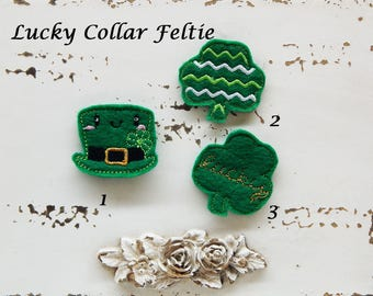 Lucky Collar Felties for Dogs and Cats