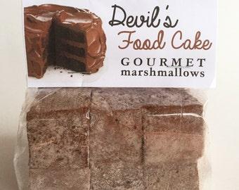 Fresh Gourmet Artisan Devil's Food Cake  Marshmallows **Gluten Free**