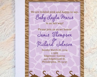 Cocalo Jacana - Cocalo Jacana Baby Shower Theme - Cocalo Jacana Invitation